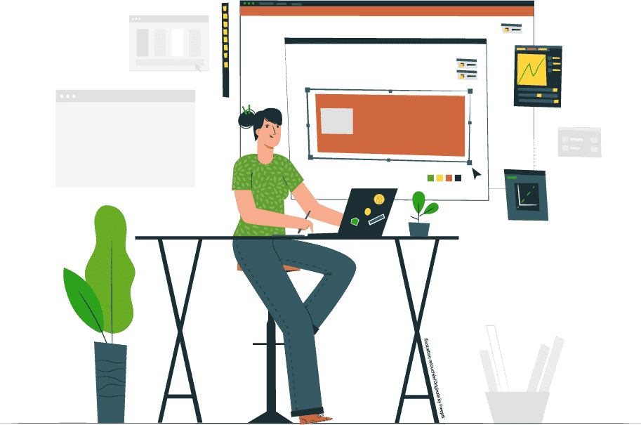 illustration de Gaële Gerbaux graphiste et webdesigner