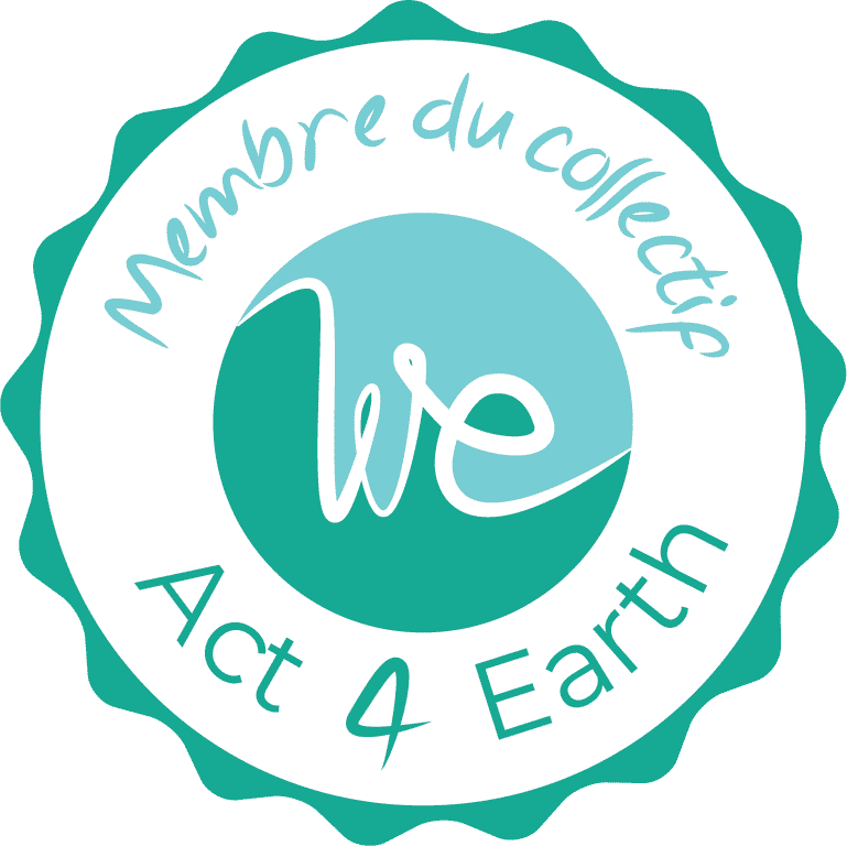 Badge collectif we act 4 earth