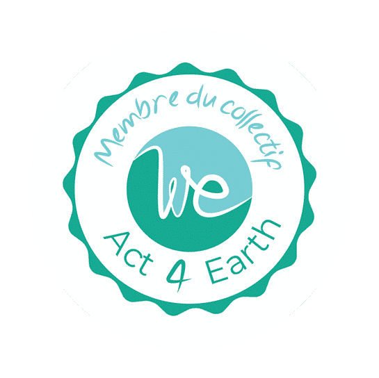 Logo collectif We Act 4 Earth