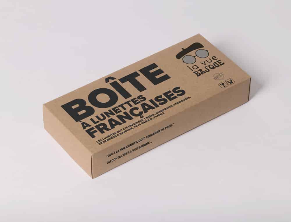 Packaging emballage pour lunettes éco responsables
