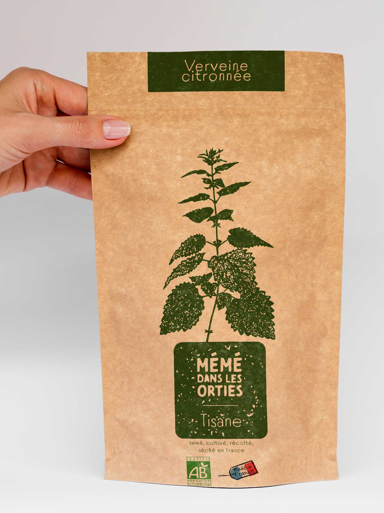 Packaging tisane bio