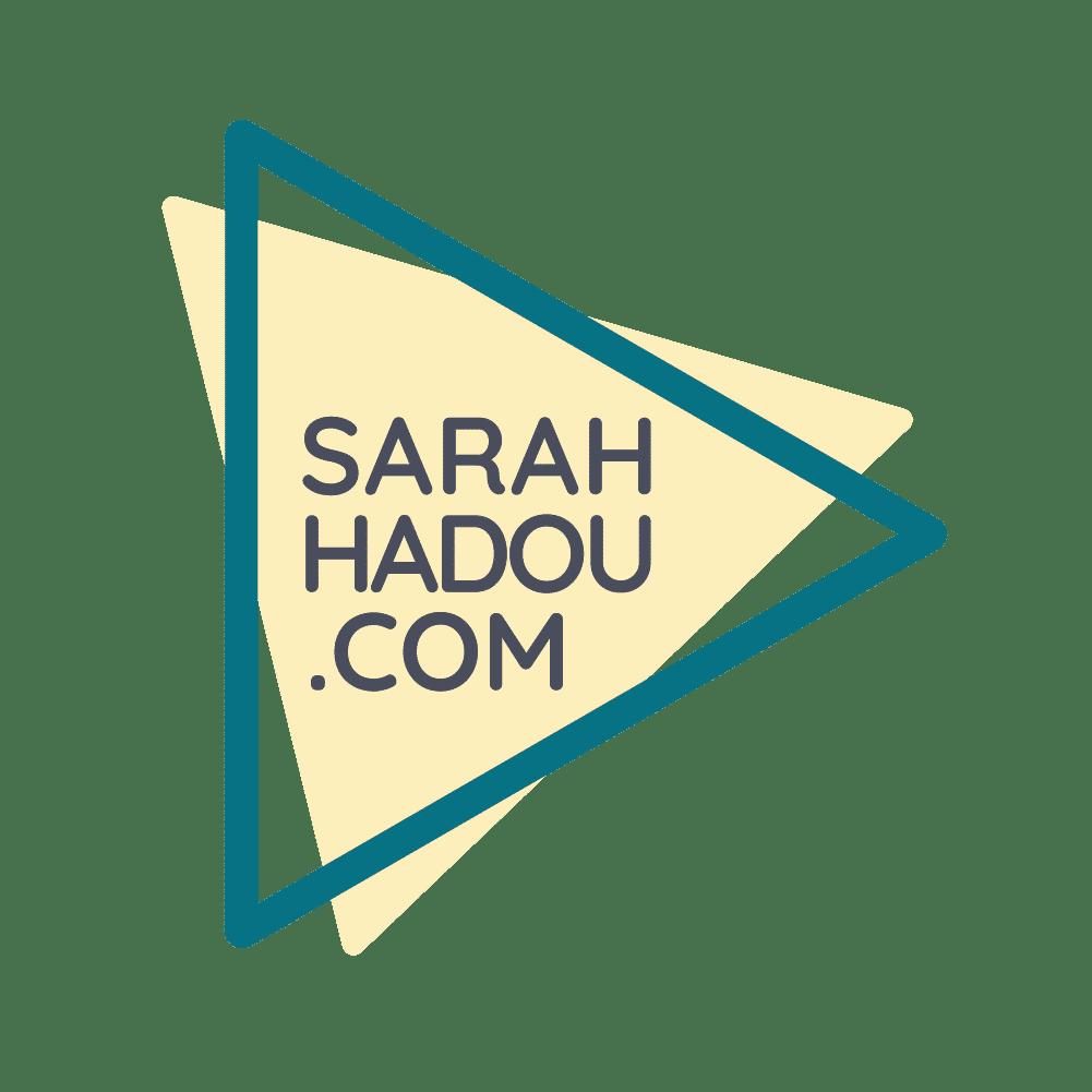Variante logo sarah hadou